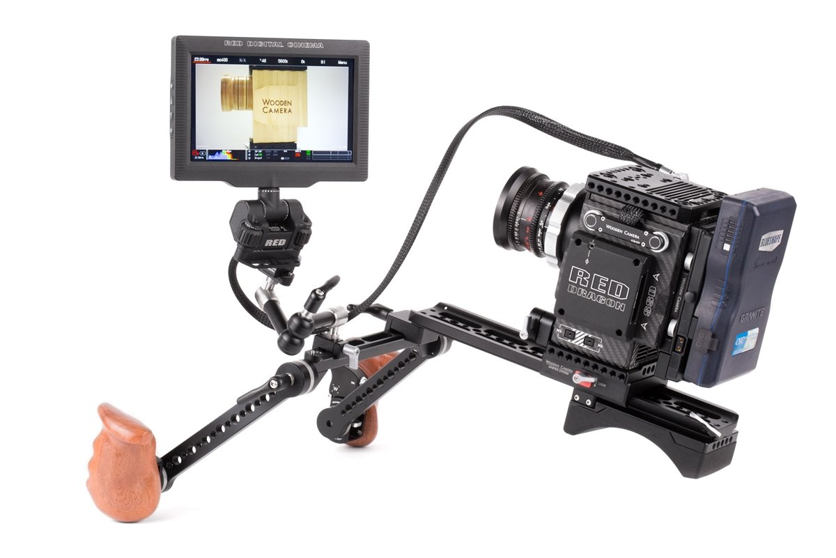 """Wooden Camera - RED Male LEMO Compatible to Female Pogo LCD/EVF Cable (24"""", RED DSMC2) SKU:221500"""
