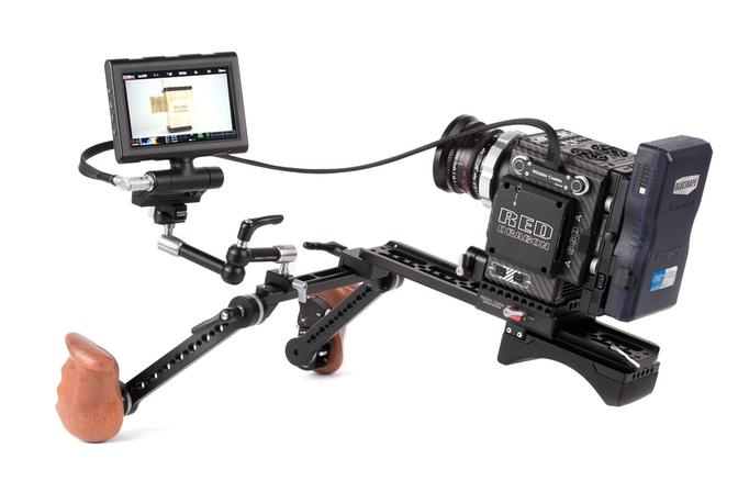 """Wooden Camera - RED Male Pogo to Male LEMO Compatible LCD/EVF Cable (24"""", RED DSMC2) SKU:221800"""
