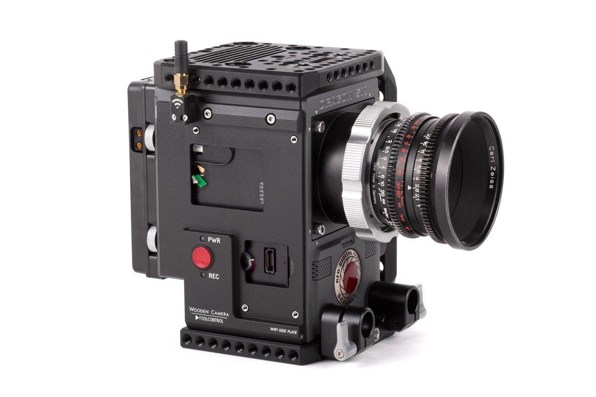 Wooden Camera - WiFi Side Plate (RED DSMC2) SKU:228800