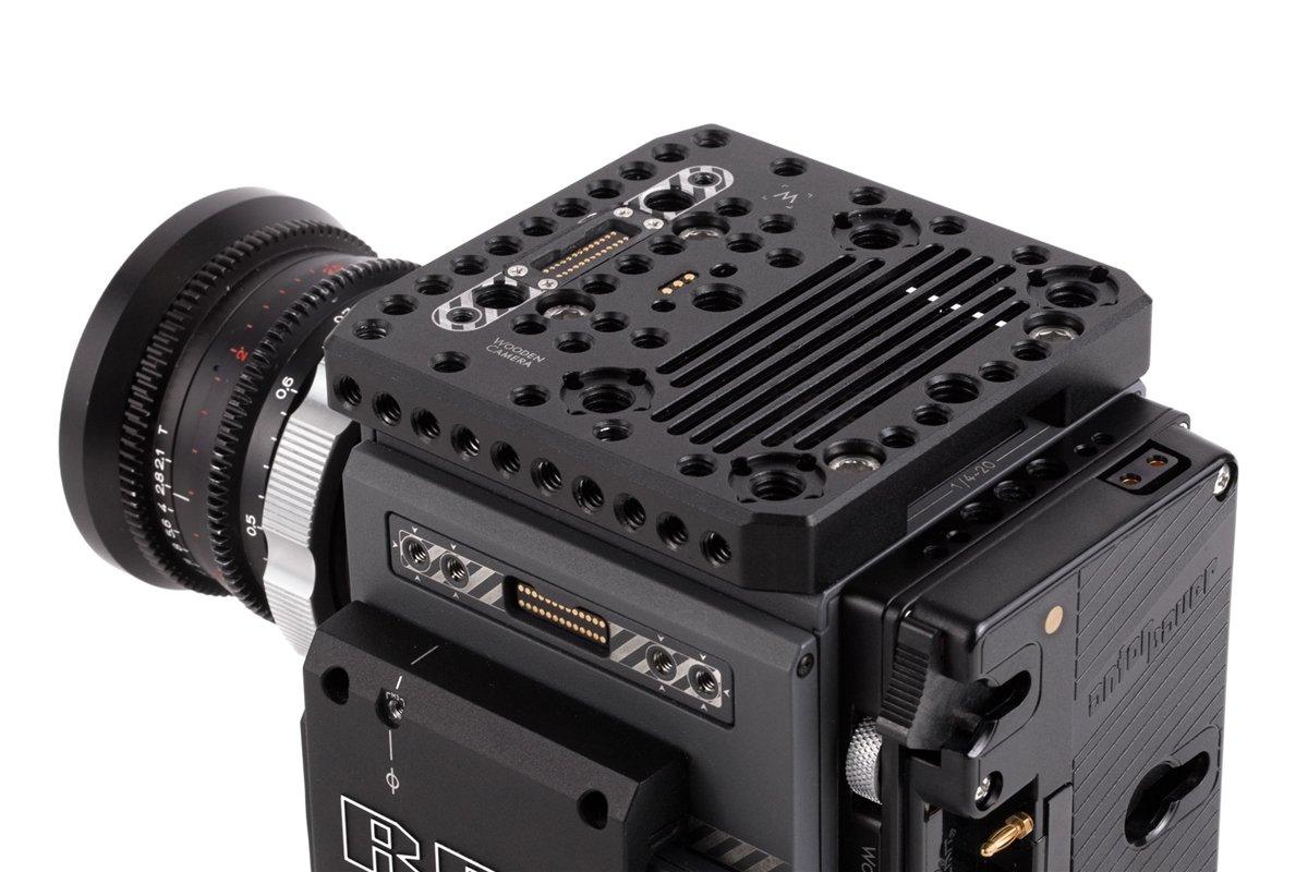 Wooden Camera - Pass Through Top Plate (RED DSMC2)  SKU:229400