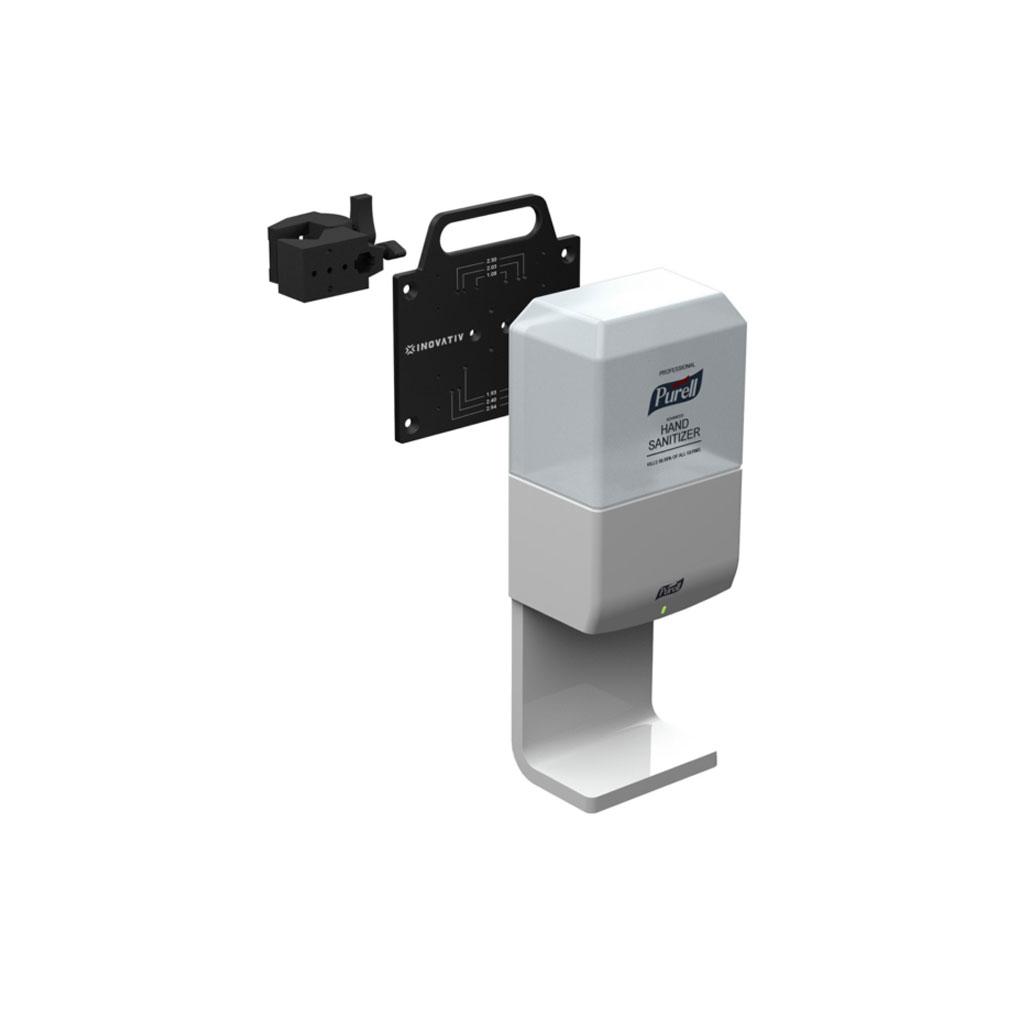 AXIS Shield, Single Unit Hand Sanitizing Dispenser Mount