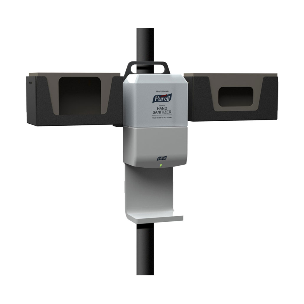 AXIS Armor, Sanitizer Station Mount
