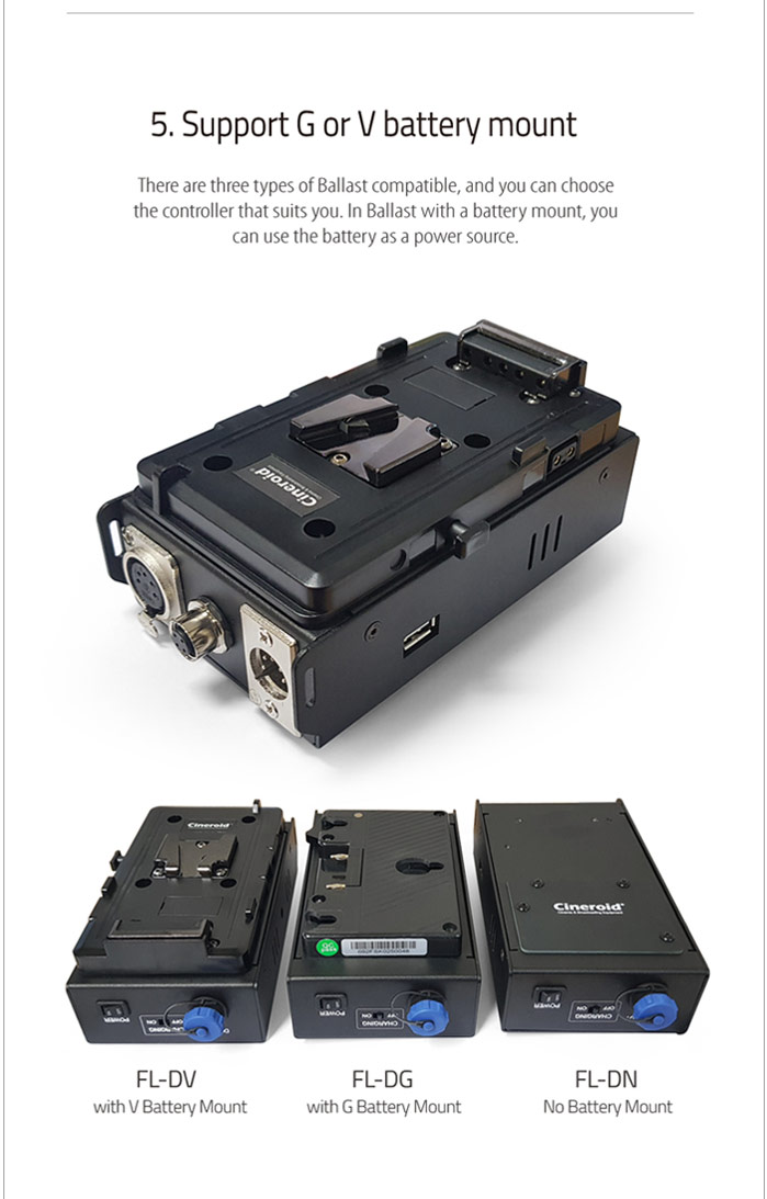 FL400N 400 Flexible Light a set with No battery mount