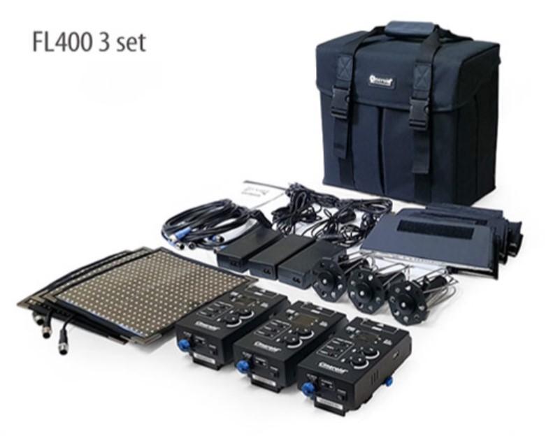 FL400-3V 400 Flexible Light 3 set with V mount