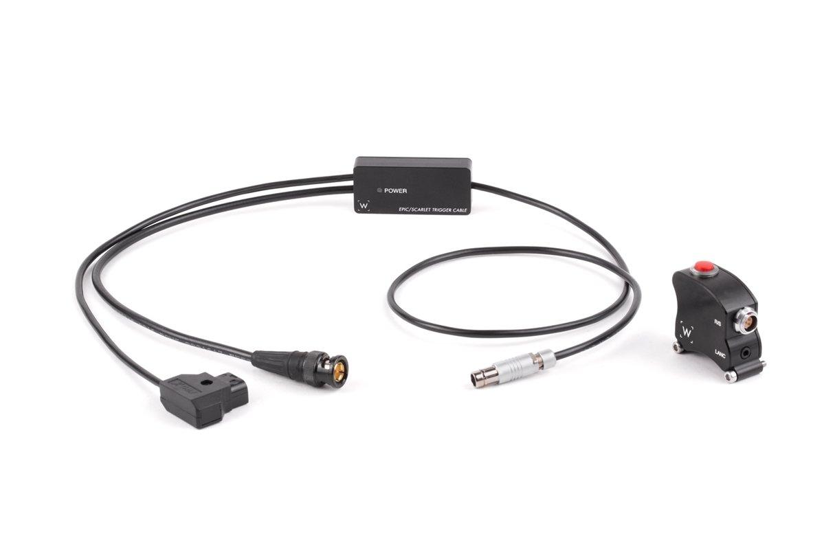 Wooden Camera - Wooden Camera Handgrip Trigger Box BNC (RED DSMC1, DSMC2)  SKU:239100