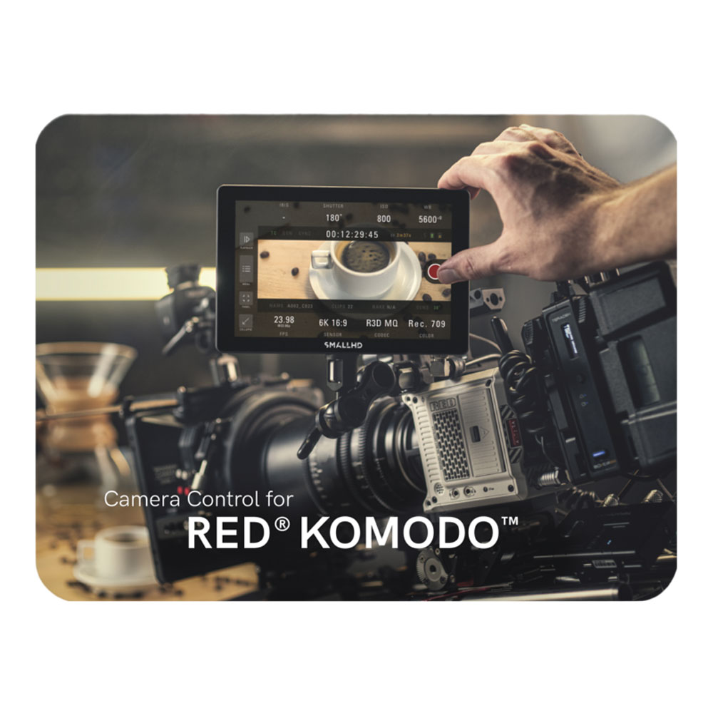 Camera Control for RED® KOMODO™ (Software Only)