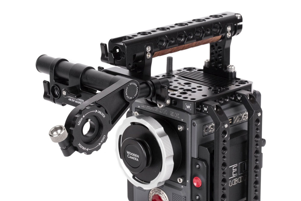 Wooden Camera - AIR EVF Mount (RED DSMC2 EVF)  SKU:248400