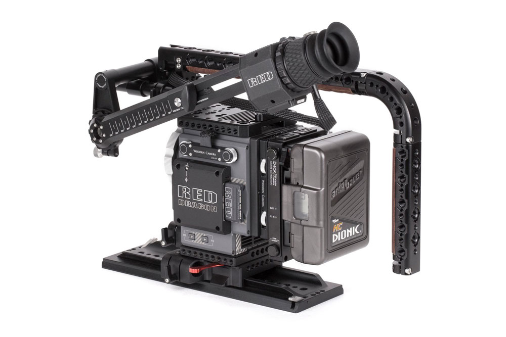 Wooden Camera - AIR EVF Extension Arm (RED DSMC2 EVF) SKU:249400