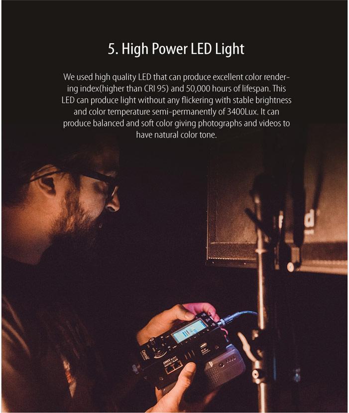 CL800-3V 800 Color Light 3 set with V mount