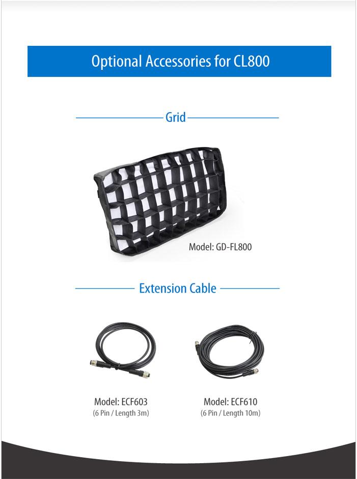 CL800-3N 800 Color Light 3 set without battery mount