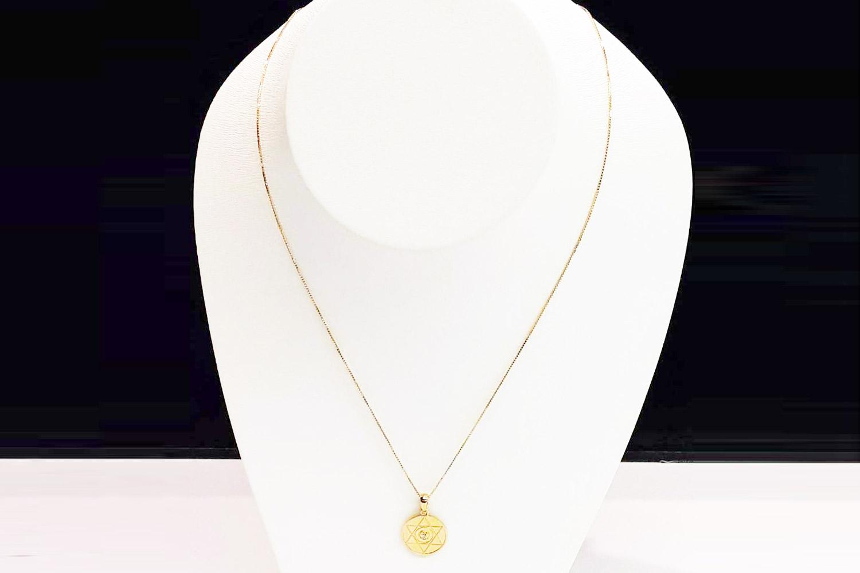 チェーン(ベネチアンカット)45cm ※調節できます  GODDESS SELF Marage Jewelry