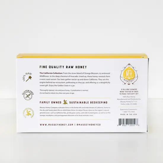 生はちみつ カリフォルニア・コレクション Massey Honey Co