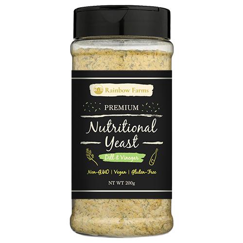 ニュートリショナルイースト [ディル] Rainbow Farms ディル Nutritional yeast ヴィーガン 無香料 無着色 遺伝子組み換え不使用 NON-GMO