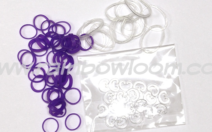 アルファルーム専用輪ゴム (アルファバンド-紫色)