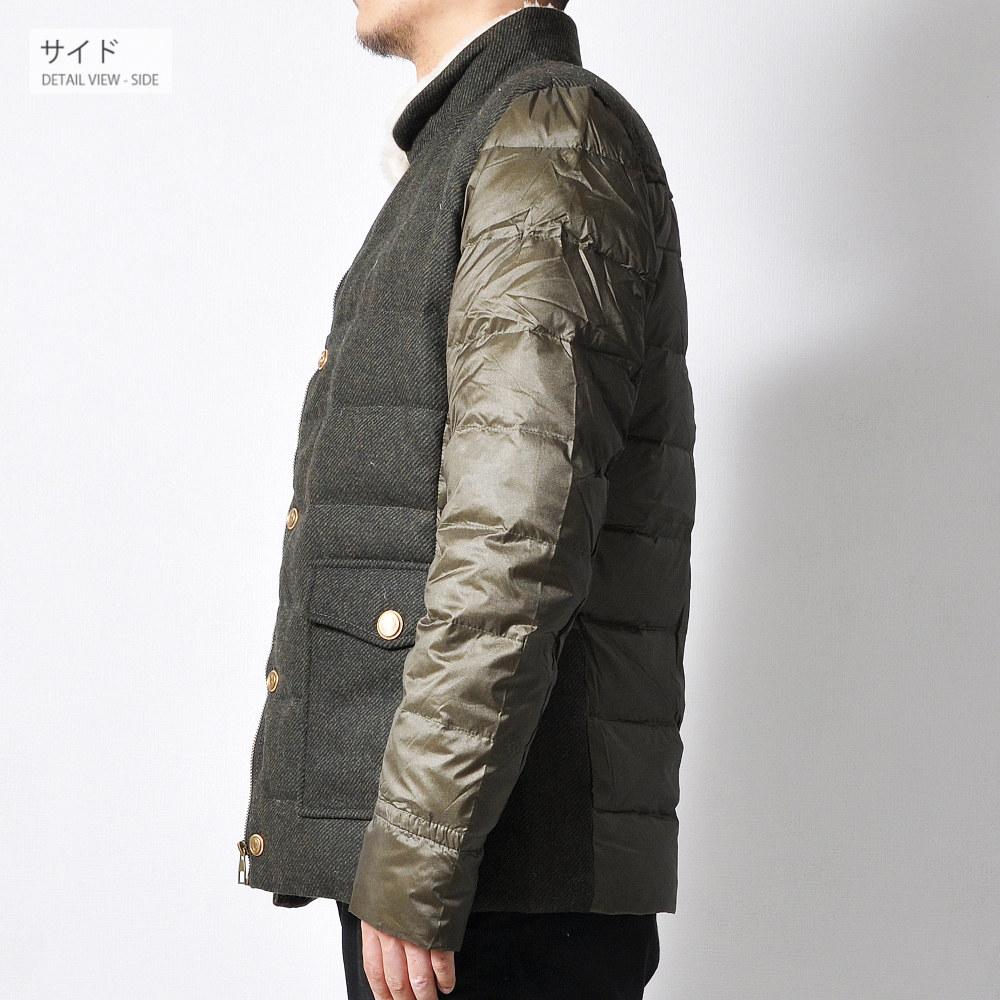 ミリタリーダウンジャケット 【メンズミリカジアイテム!!】#T987