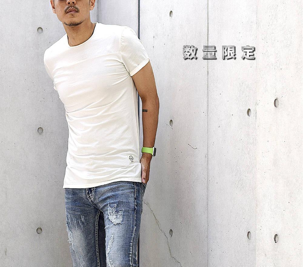 ロング丈Tシャツ #TA92