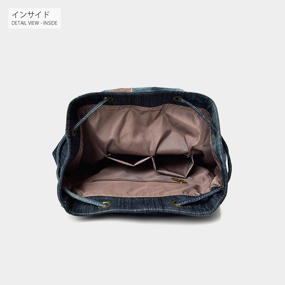 大容量 デニムリュック 【メンズデニムコーデアイテム!!】 #A923