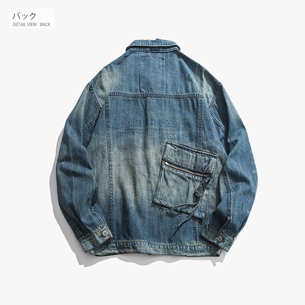 デニムジャケット 【メンズデニムコーデアイテム!!】 #T707