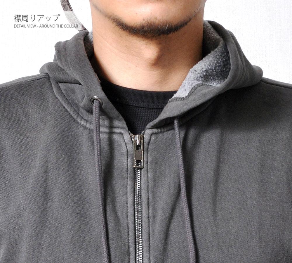 ジップアップパーカー 【メンズミリカジアイテム!!】 #PK516