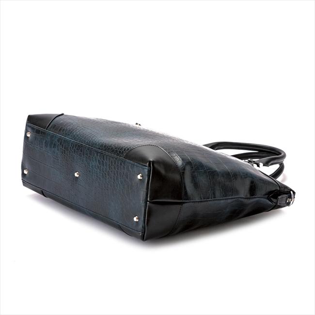 トートバッグ (ビジネストート) メンズ クロコ型押し LUX RA22-105