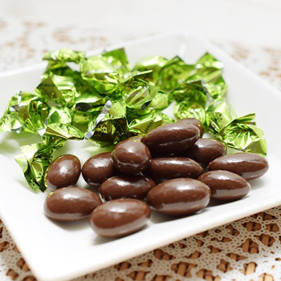 糖質制限 ヘルシーアーモンドチョコレート
