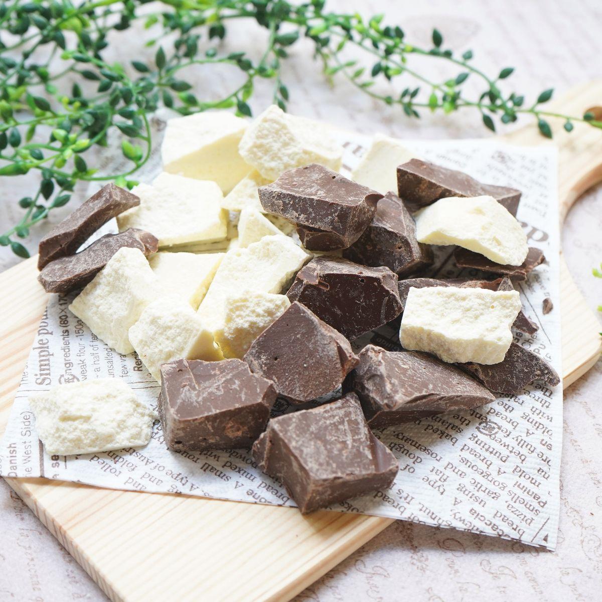 糖質制限 割れチョコ ブラック