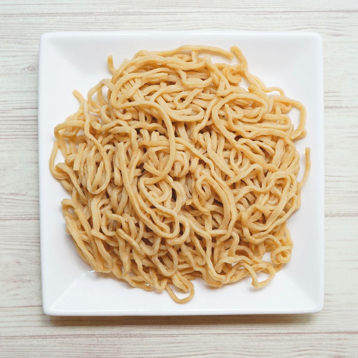 糖質制限 せいろ大豆麺