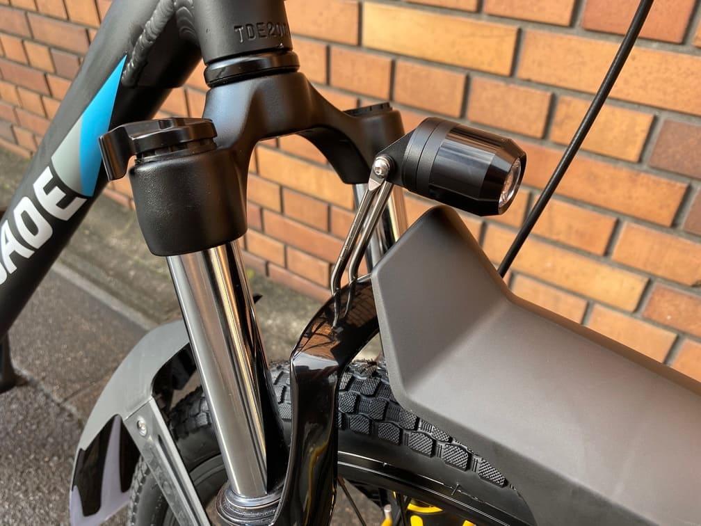 USB充電式ヘッドライト MUTE100FC