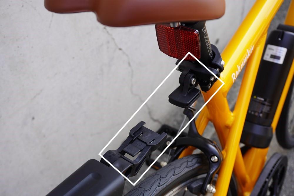 OGKリアフェンダー ブラック 着脱が簡単なリアフェンダー クロスバイク、700Cなどに最適