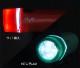 丸みを帯びた形とカラフルな7色展開が魅力のポップな自転車用LEDヘッドライト  高輝度白色LEDを5つ搭載!Polluce2(ポルチェ2)PL-502フロントライト