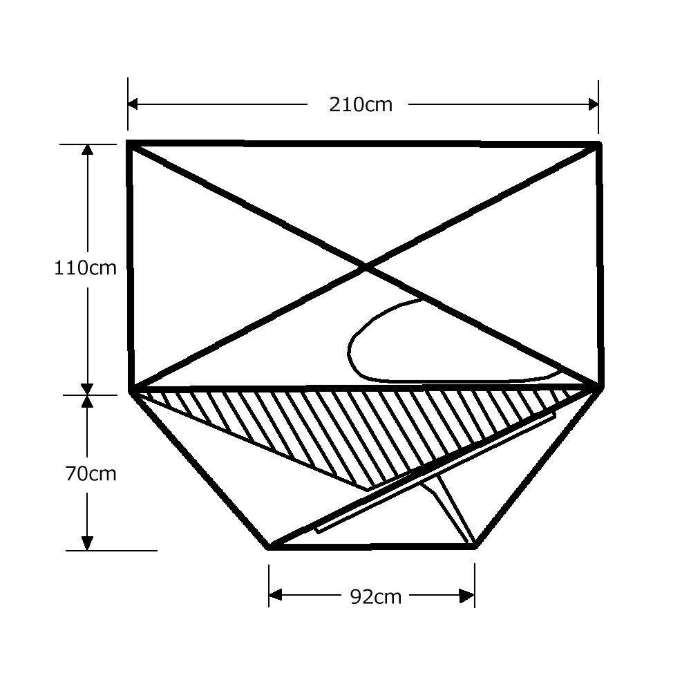 ARAI TENT(アライテント) トレックライズ 1 DX フライ仕様