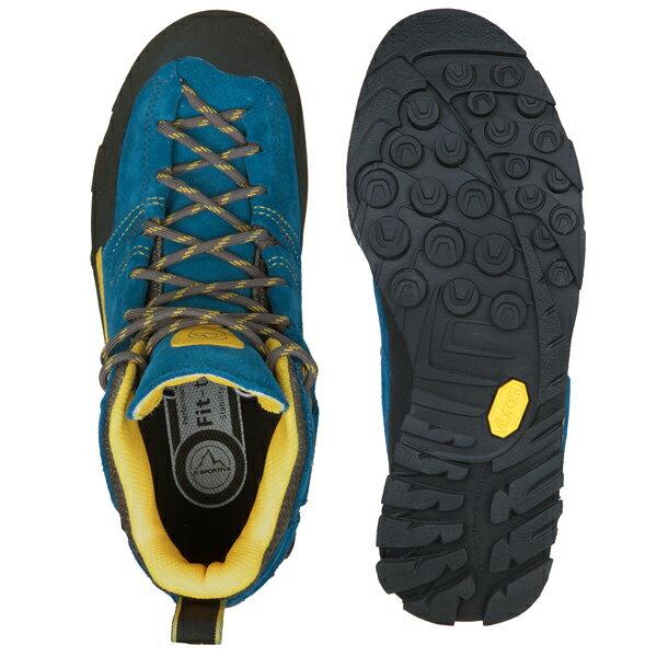 SPORTIVA(スポルティバ) Boulder X MID GTX(ボルダーエックスミッド GTX) 17E Blue/Yellow