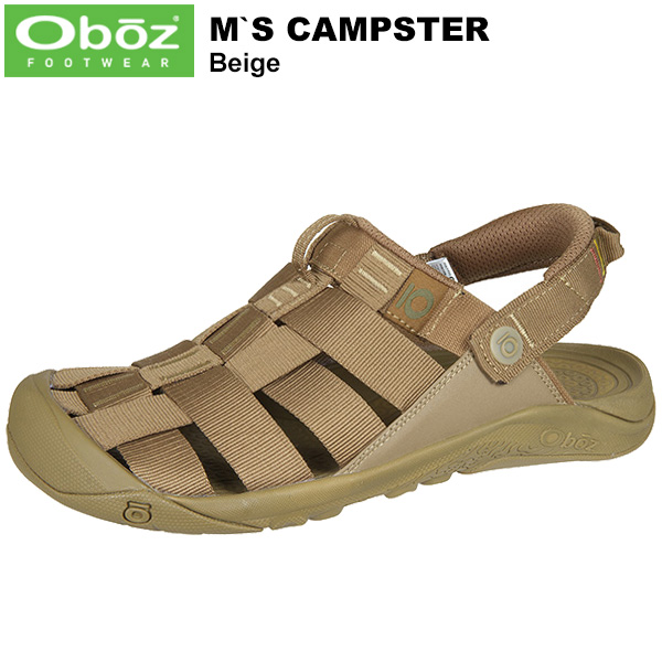 Oboz(オボズ) Men's Campster (キャンプスター) Beige