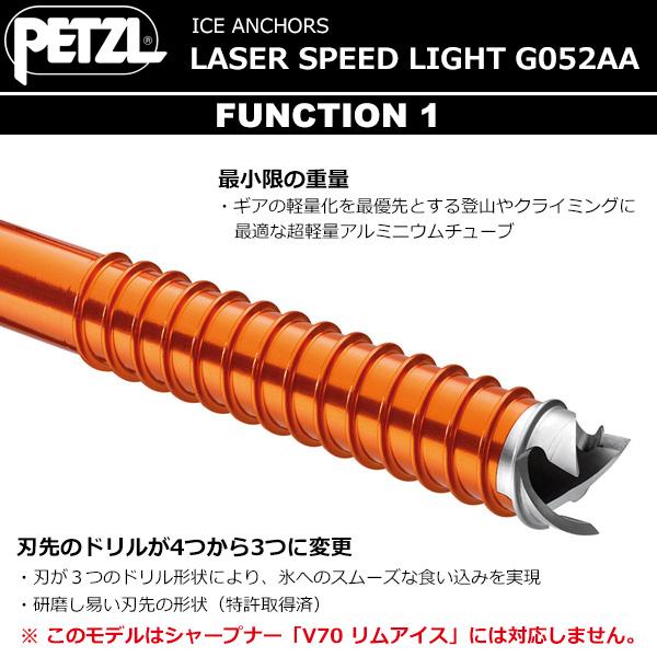 PETZL(ペツル) レーザースピードライト 21cm G052AA02