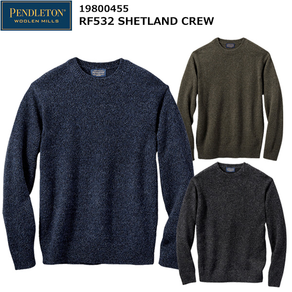 PENDLETON(ペンドルトン) RF532 シェットランドクルー 19800455