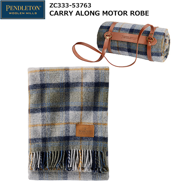 PENDLETON(ペンドルトン) ZC333 Carry Along Motor Robe 19373199 (Mosier Plaid)
