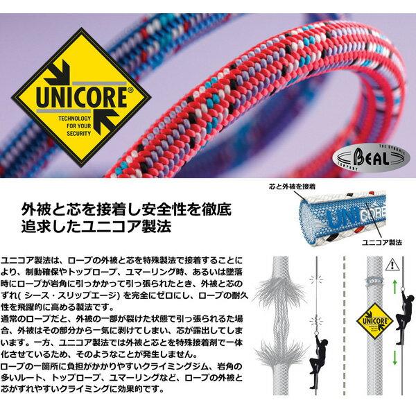BEAL(ベアール) 9.7mm ブースターIII ユニコア ドライカバー 50m BE11109