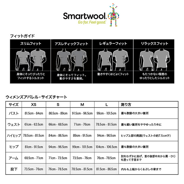 smartwool(スマートウール) W's メリノ250ベースレイヤークルー SW63500