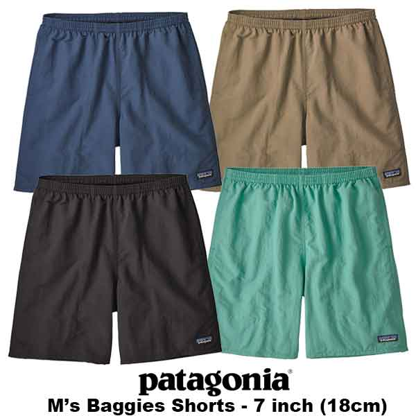 patagonia(パタゴニア) M's Baggies Longs - 7 in. (バギーズ・ロング・7インチ)