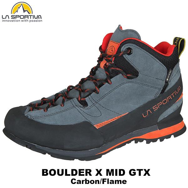 SPORTIVA(スポルティバ) Boulder X MID GTX (Carbon/Flame)