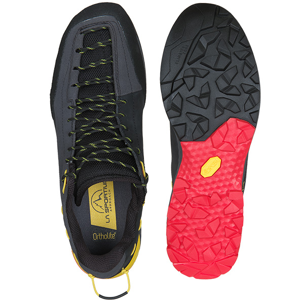 SPORTIVA(スポルティバ) TX Guide Leather (Carbon/Yellow)
