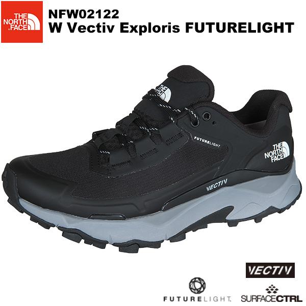 THE NORTH FACE(ノースフェイス) W Vectiv Exploris FUTURELIGHT (ウィメンズベクティブエクスプロリスフューチャーライト) NFW02122 カラー/KM