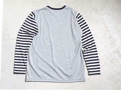 MERINO CRAZY LONG T-SHIRT 【restock】