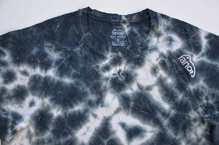 UNEVEN TIE DYEING T-SHIRT