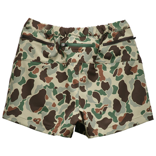 DUCK CAMOUFLAGE VERY SHORTPANTS