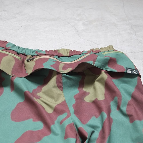 BIC CAMOUFLAGE MIDDLE SHORTS