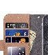 Melkco iPhone XR (6.1インチ) (2018) ケース 本革 プレミアム レザー ハンドメイド ウォレット ブック タイプ 手帳型 (横開き)【 クラシック・ビンテージ・ブラウン 】