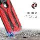 iPhone XR (6.1インチ) (2018)  ケース 【 Zizo 】 耐衝撃 米軍MIL規格取得 キックスタンド ハイブリッド  ( ポリカーボネイト × TPU ) STATIC シリーズ 【 レッド / ブラック 】
