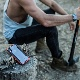 X-Doria iPhone XS Max (2018) ケース DEFENSE SHIELD シリーズ 米軍MIL規格取得 MIL-STD-810G 衝撃吸収 スリム ハイブリッド アルミニウム × TPU × ポリカーボネイト ケース 【 レッド 】