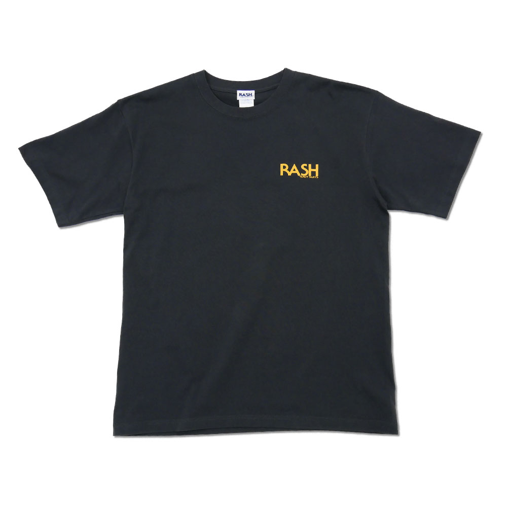 2021 RASH 羽バックTee 6.2oz